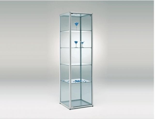 Class vetrinetta da terra formato 51 5x41 5x184h cm - Vetrinette da parete ...