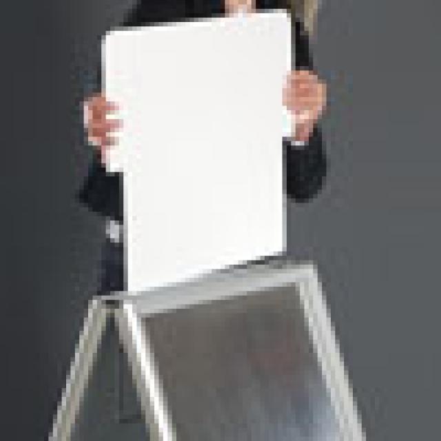 Cavalletto grande bifacciale dimensioni a0 84 1x118 9 cm - Porta messaggi ...