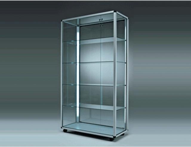 Sirio vetrinetta da terra 2 ante 99x55 5x184h for Ikea vetrine in vetro