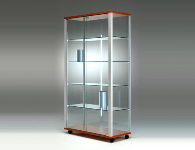 Neos vetrinetta 2 ante dim 98x43 5x183h cm - Vetrinette da parete ...