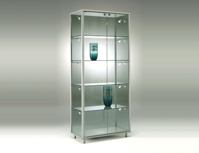 Idea vetrinetta due ante dimensioni 78x42x182h cm - Vetrinette da parete ...
